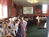 Video screening in Burnley Mechanics Bar May 2009.