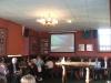 Video screening in Burnley Mechanics Bar, May 2009.
