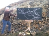 Drawing Performance on Parys Mountain.